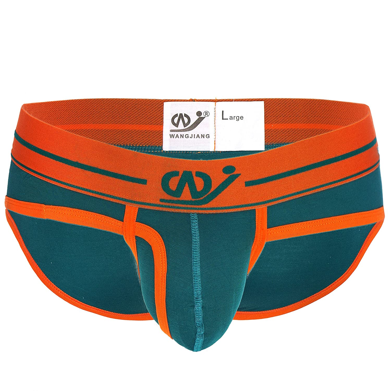 WANGJIANG - Slips - para Hombre Moos/Orange XS/S: Amazon.es: Ropa y accesorios