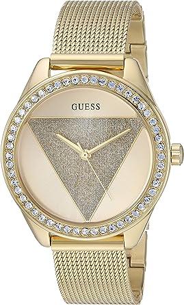 Guess 36MM Logo Glitz Dial Watch