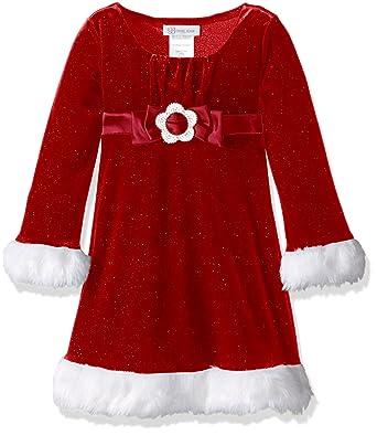 435cc1d1 Amazon.com: Bonnie Jean Big Girls' Santa Dresses: Clothing
