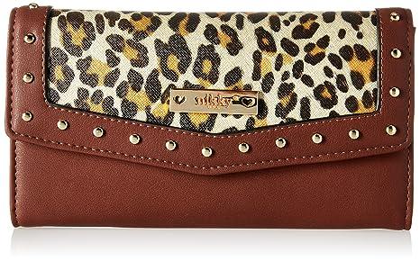 ae3d59c26f5b Amazon.com: Nikky Women's Cheetah Print [Choco] Trifold RFID ...