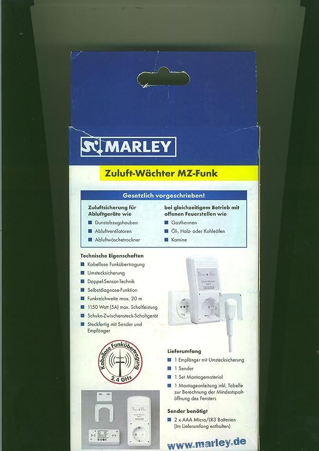 Luftdruckwächter Abluftsteuerung Zuluft-Wächter MZ-Funk Marley DIBt
