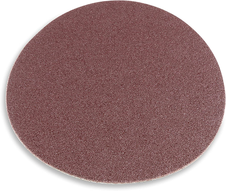 16 Inch 60 Grit Adhesive Back Metal Sanding Disc