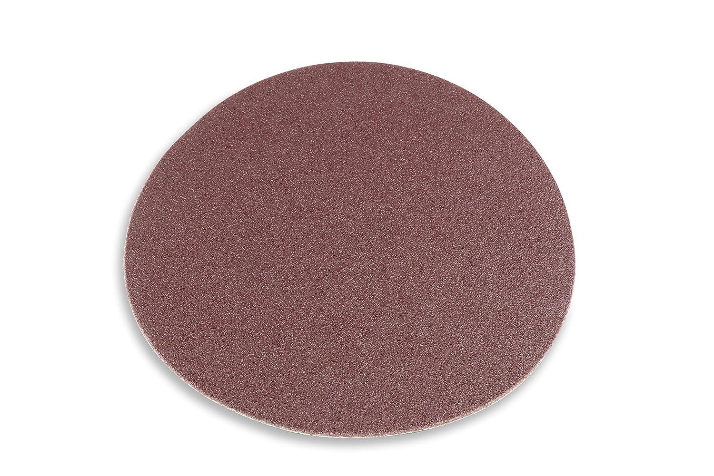 16 Inch 120 Grit Adhesive Back Multipurpose Sanding Disc Red Label Abrasives