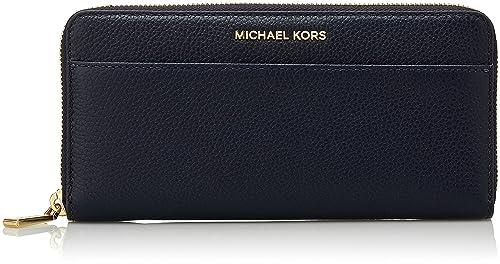 Michael Kors Mercer, Monedero para Mujer, Azul (Admiral ...
