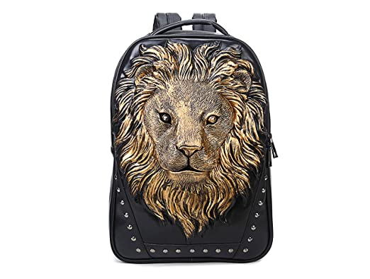 fe7c0eba2f5a0 Berchirly Lionhead Backpack Shoulder Bag Portable Handbag For  Women/Girls,Men/Boys