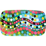 French Bull - Melamine Serving Platter - 13-1/2-Inch by 8-Inch Serving Tray - for Indoor and Outdoor Entertaining - Bindi