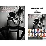 ARIANA GRANDE CALENDRIER 2018 + ARIANA GRANDE PORTE CLÉ
