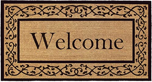 Calloway Mills 120073048 Abbington Doormat, 30 x 48 , Natural Black