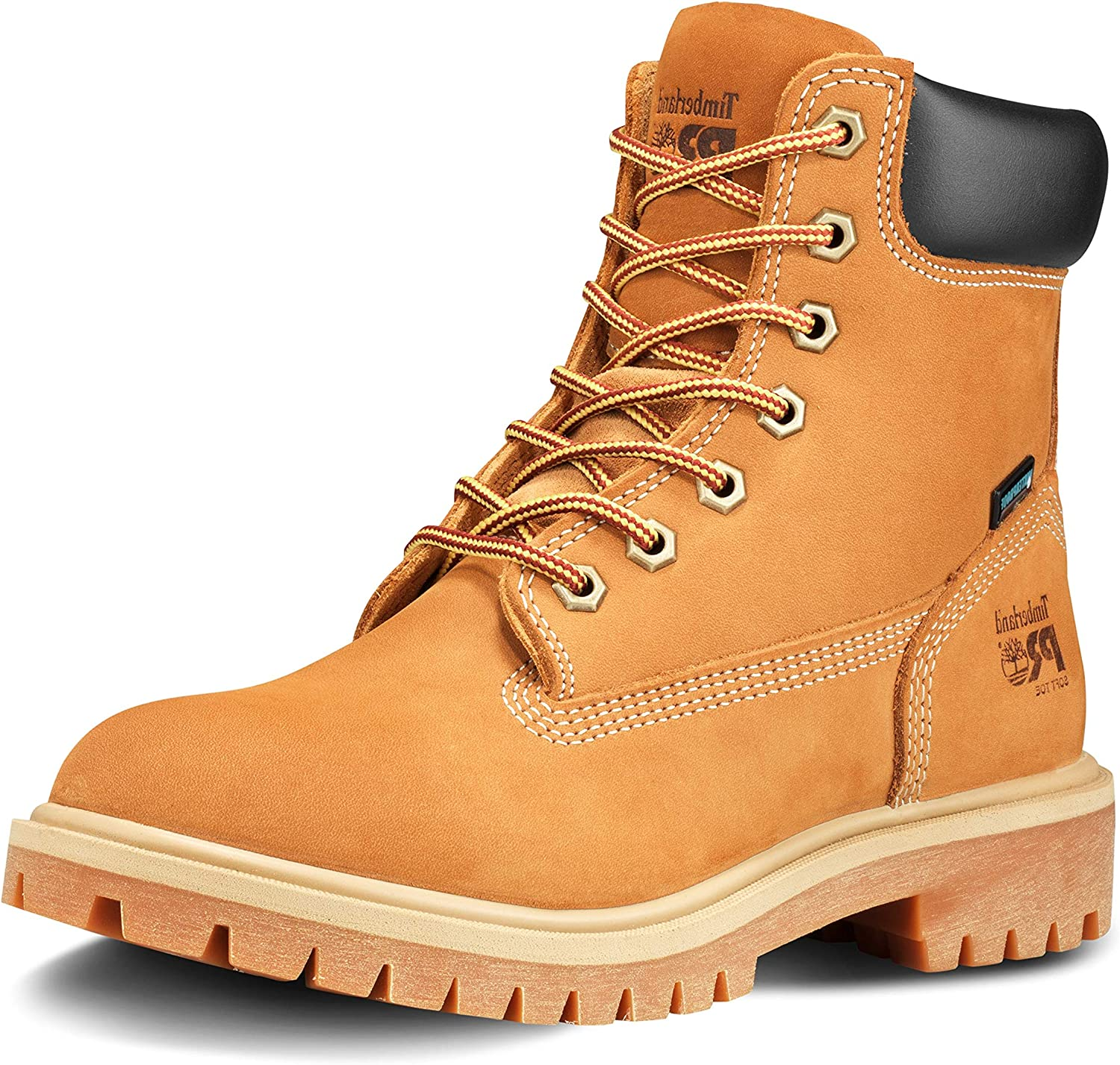 "Timberland PRO Women's Direct Attach 6"" Soft Toe Waterproof Industrial Boot"