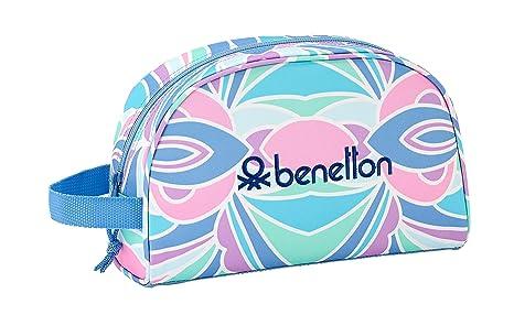 """Benetton """"Arcobaleno"""" Oficial Mochila Escolar Infantil Pequeño Con Asa 280x100x180mm"""