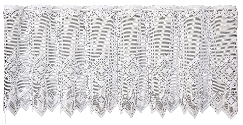 Anna 882977375x100white Libby, Curtain, White, 75x 100cm VHG 8829773-75x100-weiß