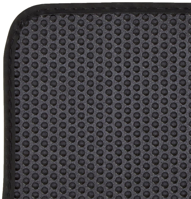 AUDI Genuine 8E0061226E90G Rear Premium Textile Floor Mat