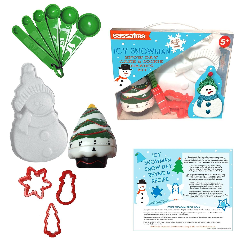 Sassafras The Little Cook Icy Snowman Baking Kit Baking Kit