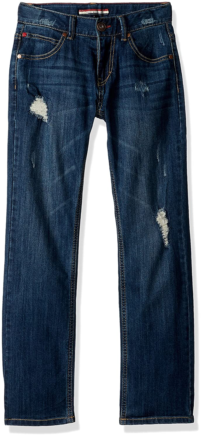 Tommy Hilfiger Boys' Big Stretch Denim Jeans,