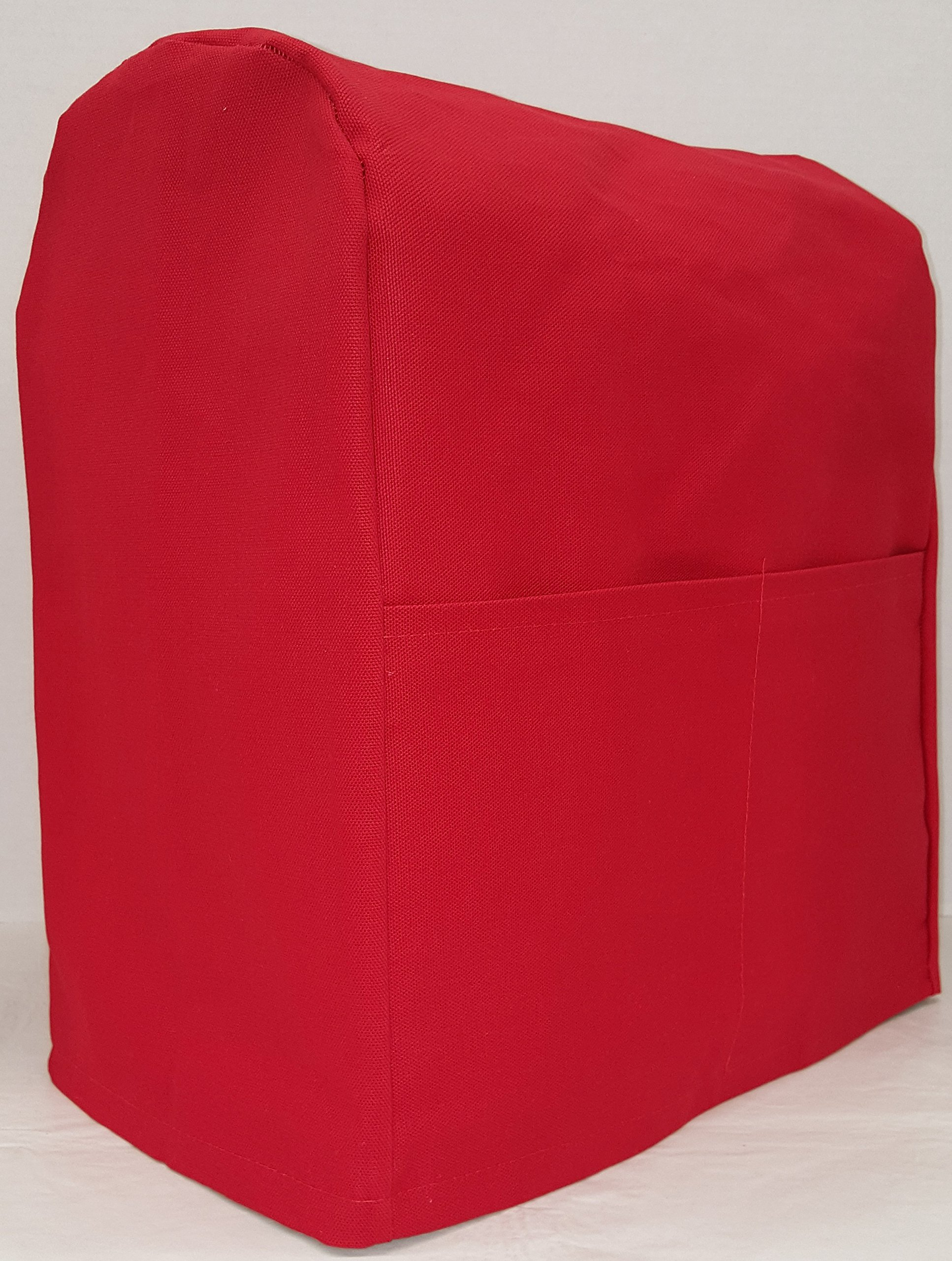 Penny's Needful Things Canvas Cover Compatible for Kitchenaid Stand Mixer (Red, 4.5,5,6qt Lift Bowl)
