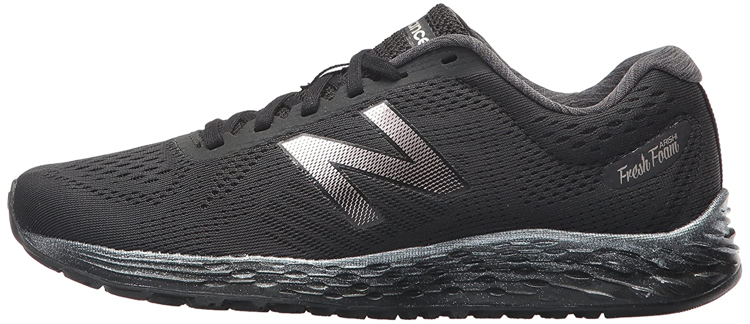 New Balance Women's Fresh Foam Arishi V1 Running Shoe B01N0P5DQR 12 B(M) US|Black