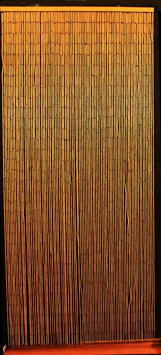 Attirant Amazon.com: Bamboo Beaded Curtain Hawaiian Tropical Decor Natural Door Way  Doorway Room Divider 90 Strands NT/BB 07: Kitchen U0026 Dining