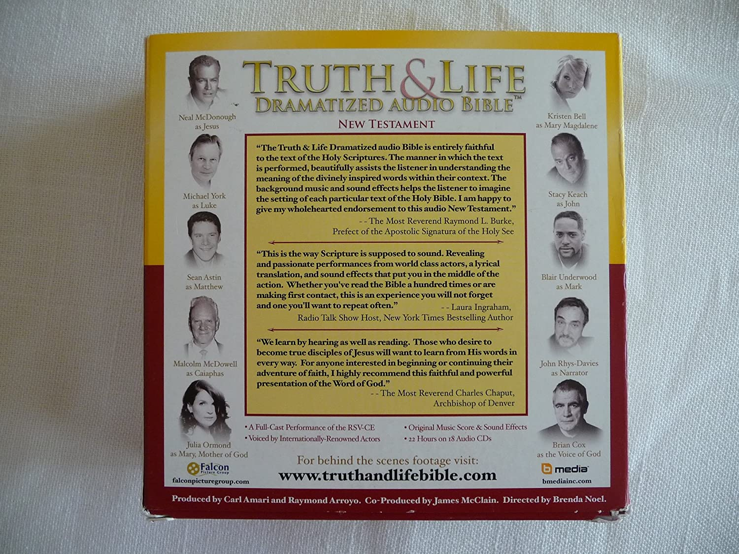 Amazon com: Truth & Life Dramatized Audio Bible (New Testament RSV