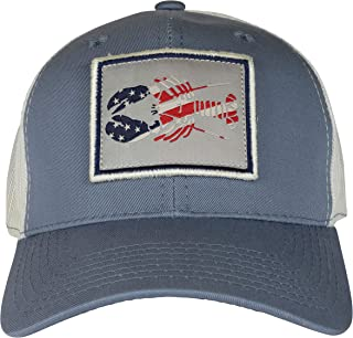 product image for Belted Cow Patriotic Lobster Trucker Hat Vintage Blue