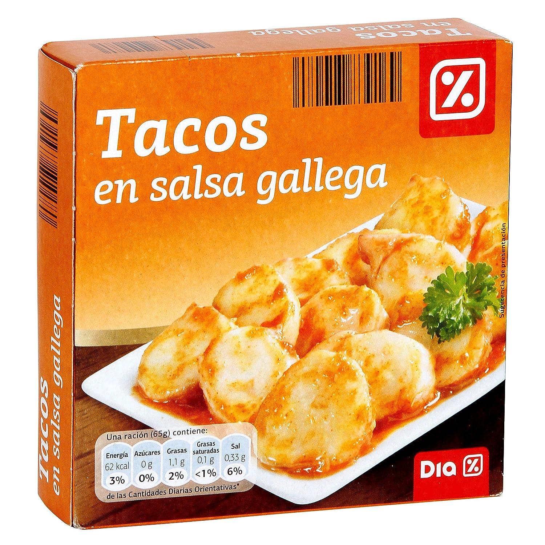 DIA - Tacos En Salsa Gallega Lata 168 Grs: Amazon.es: Alimentación y bebidas