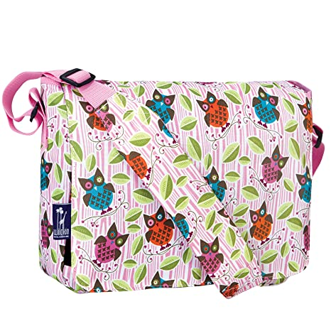 d2bf8729b7 Image Unavailable. Image not available for. Color  Wildkin Owls 13 Inch x  10 Inch Messenger Bag