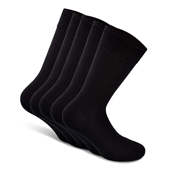 Black//White//Grey - 6 Pairs - Men /& Women Snocks No Show Socks Size 3-15 German Brand