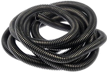 amazon com dorman 86664 black 1 2 flexible conduit automotive rh amazon com Wire Covering Conduits Automotive Wiring Grommets
