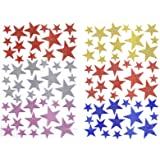 Anokhi ADA Sparkling Stars in Different Size and Colours for Decorations