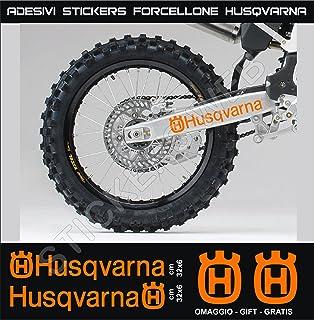 Pegatinas adhesivos HUSQVARNA FORK FORCELLONE para motos, motocicletas. Cod.0647