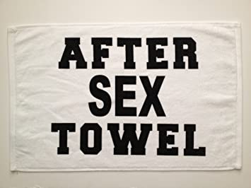 sex with towel