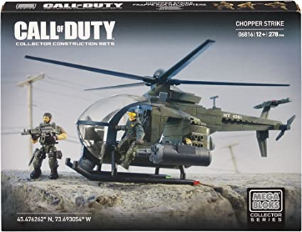 Mega Bloks Call Of Duty 6816 Chopper Strike Amazon Co Uk Toys Games