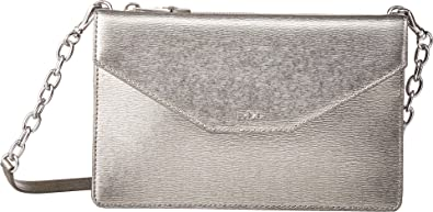 LAUREN Ralph Lauren Women\u0027s Newbury Erika Small Crossbody Antique Silver  One Size
