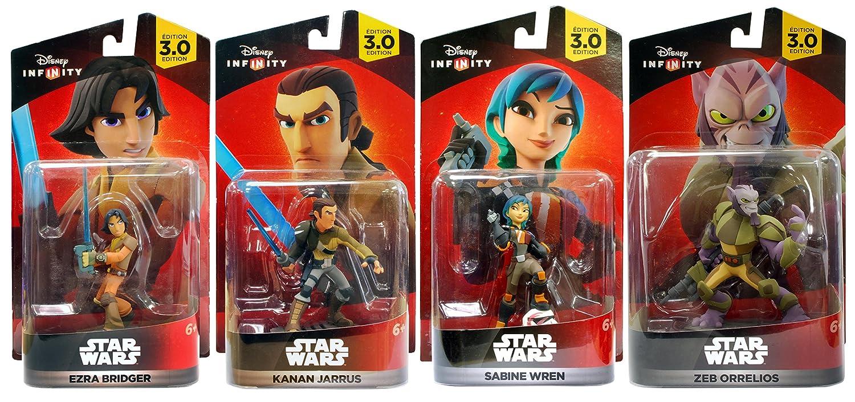 Disney Infinity 3.0 FIGURE MINIATURA NUOVA SCATOLA EZRA BRIDGER STAR WARS