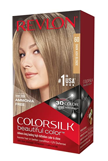 Who goes to the dark-ash-blond hair color