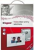 Legrand LEG369200 Kit portier vidéo couleur 7 pouces Blanc