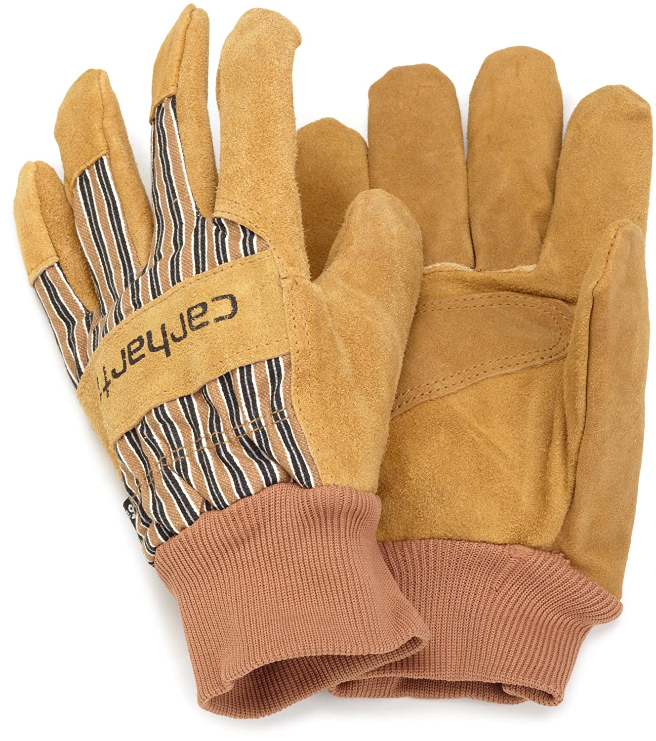 Carhartt Men's Insulated Suede Work Glove with Knit Cuff Carhartt Men' s Gloves A512