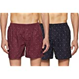 Chromozome Men's Printed Boxers (Pack of 2)