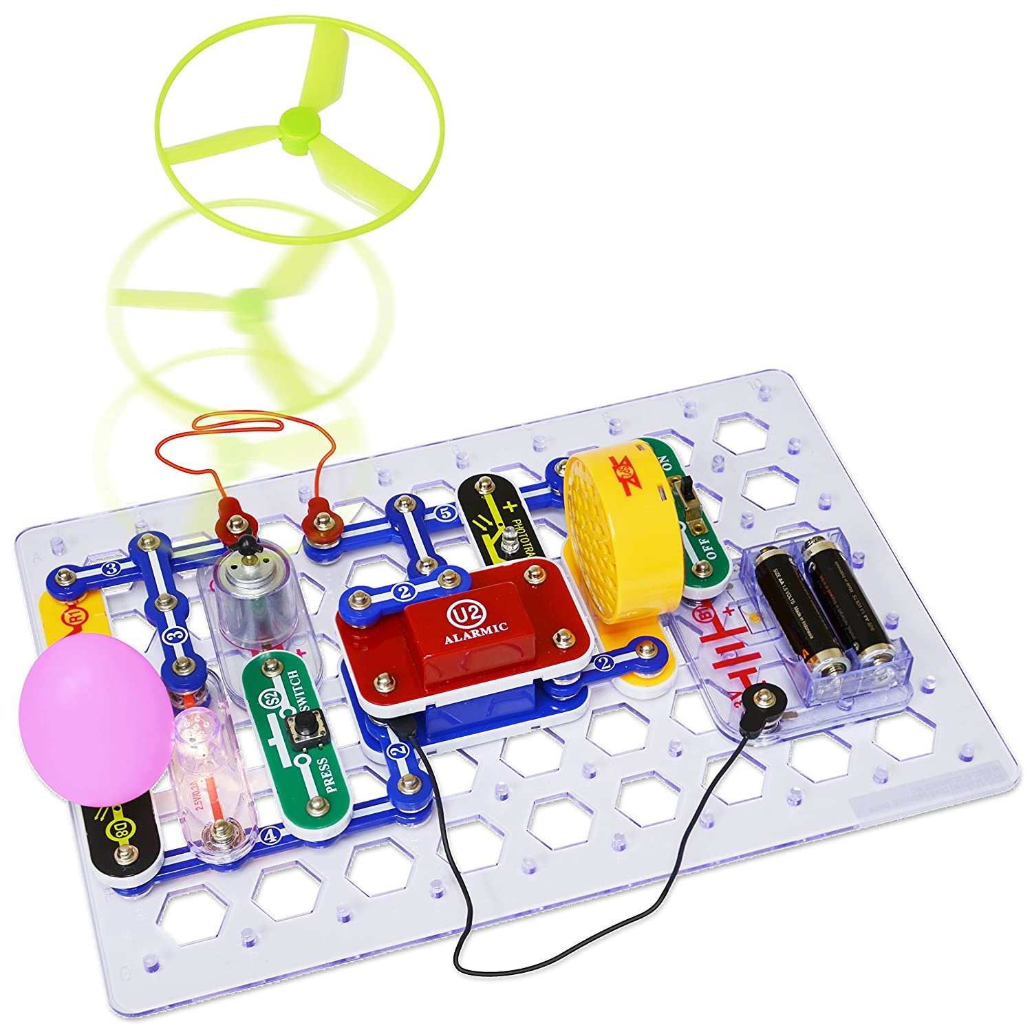 Elenco Electronics Snap Circuits Jr Select Discovery Circuit Vs Parallel For Kids Using The Above As An Kit Toys Games
