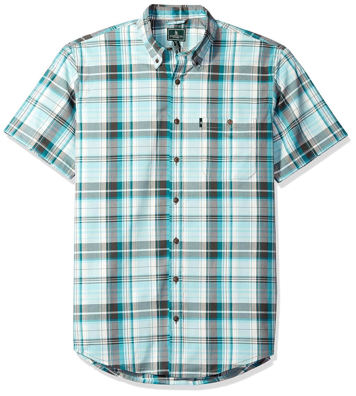 0fa89206389 Top3: G.H. Bass & Co. Men\'s Big and Tall Desert Mountain Stretch Short  Sleeve Shirt