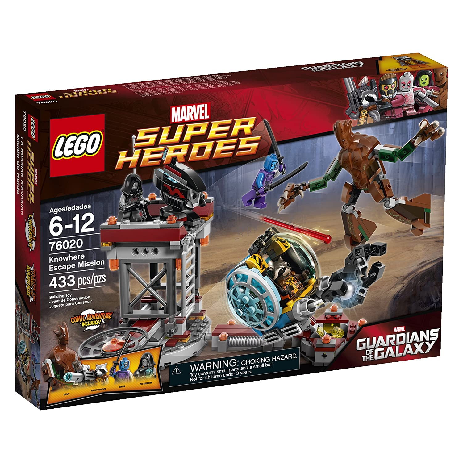 Top 7 Best LEGO Guardians of the Galaxy Sets Reviews in 2019 4