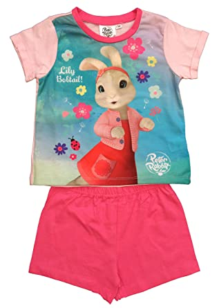 d740c1abc Peter Rabbit Pyjamas Girls PJS Age 3-4 Years  Amazon.co.uk  Clothing