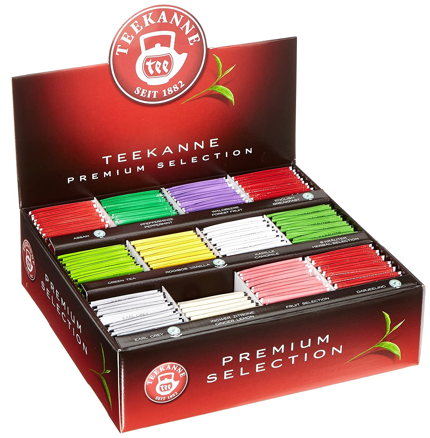 Teekanne Premium Selection Box, 363.75 g, 12 Sorten