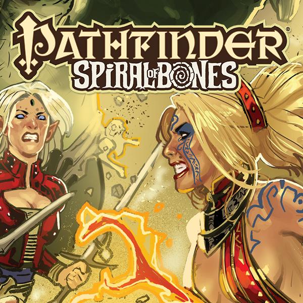 Pathfinder: Spiral of Bones (Issues) (4 Book Series)