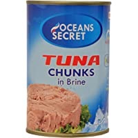 Oceans Secret - Tuna Chunks in Brine 425g (Pack of 4)
