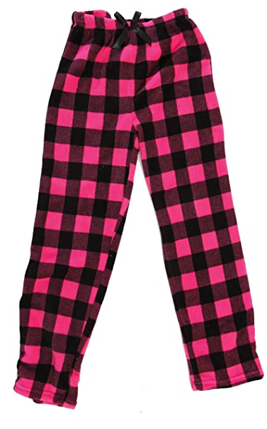 Amazoncom Just Love Plush Pajama Pants For Girls Clothing