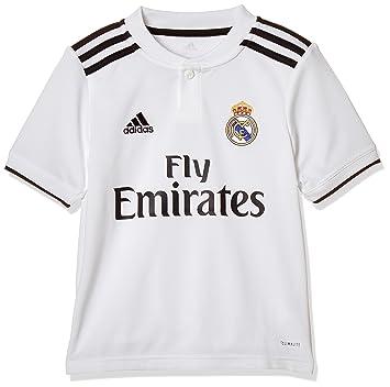f2d3f8f8a3f adidas Camiseta Real Madrid Primera Equipación 2018-2019 Niño White-black  Talla 128
