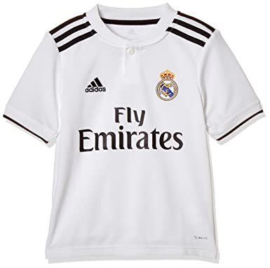 930195f1 adidas 18/19 Real Madrid Home Camiseta, Niã±o: Amazon.es: Ropa y accesorios