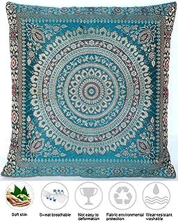 Orientalisches//Indisches Kissen Nr 66 Türkis//Bunt