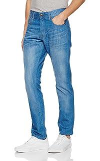fec23ddf Mens Firetrap Editor Fit Straight Leg Casual Jeans In Denimwash ...