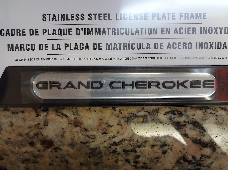 Fancy Grand Cherokee License Plate Frame Ensign - Framed Art Ideas ...